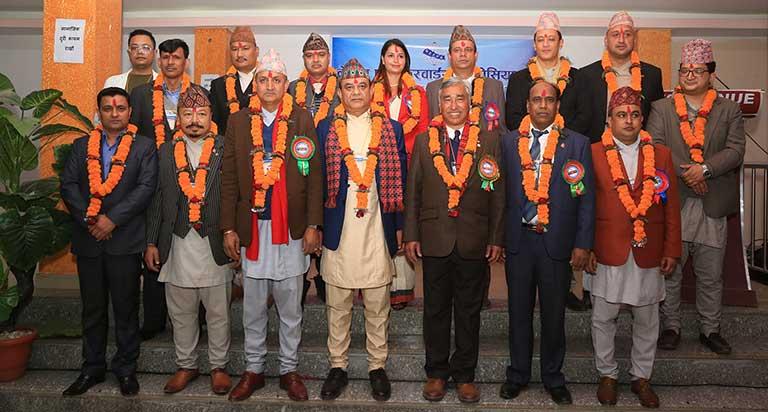 नेपाल फ्रेट फरवार्डरस एसोसिएसनको २०औं वार्षिक साधारण सभाबाट नयाँ कार्यकारिणी समितिको गठन