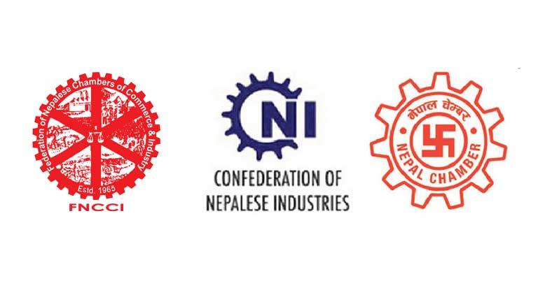 एमसिसी कार्यान्वयन सम्बन्धमा नेपाल उद्योग वाणिज्य महासंघ, नेपाल उद्योग परिसंघ र नेपाल चेम्बर अफ कमर्सको संयुक्त विज्ञप्ति